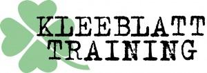 kleeblatt logo weiss