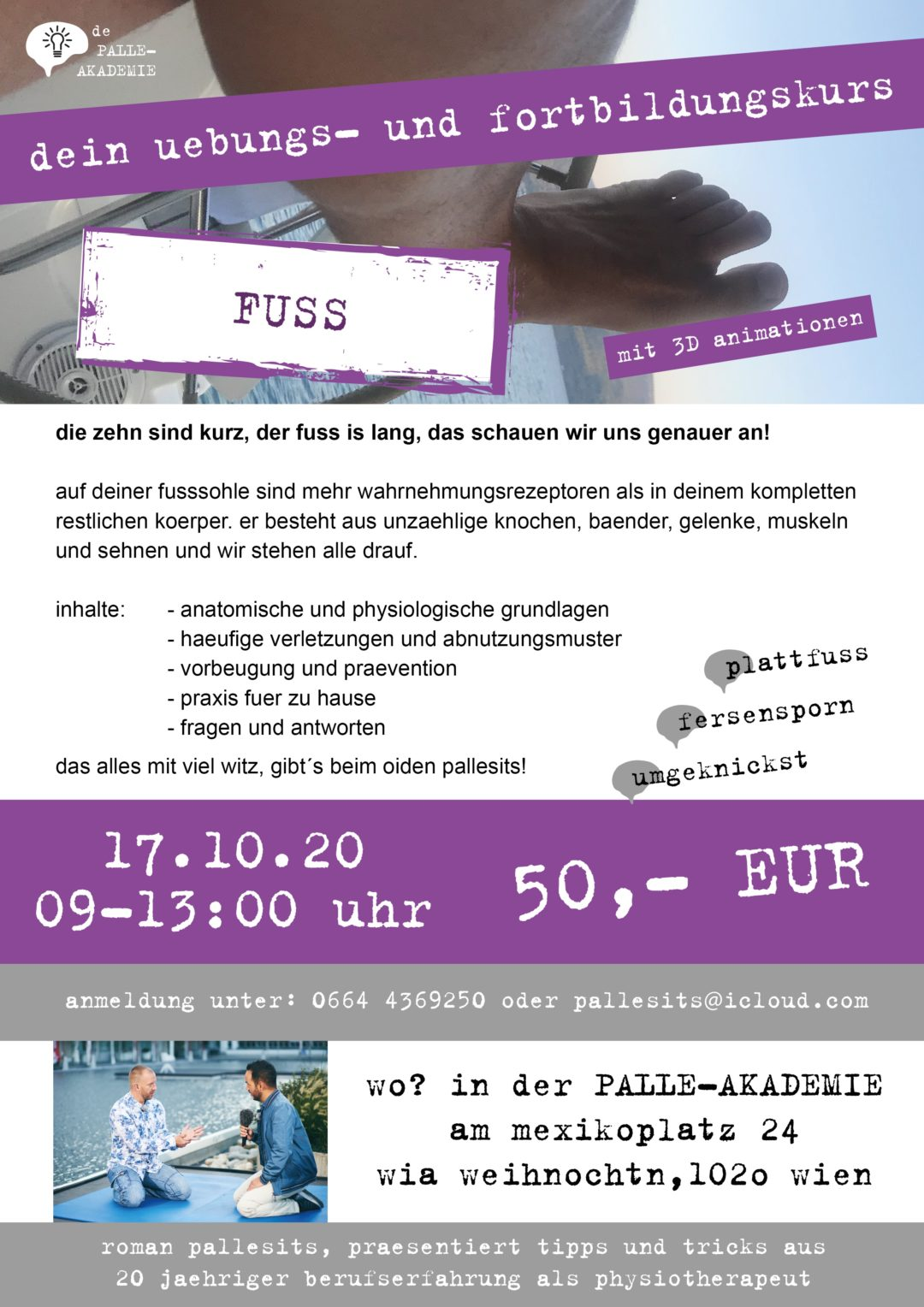 fuss-workshop-physiotherapie-wien-romanpallesits-palle-akademie